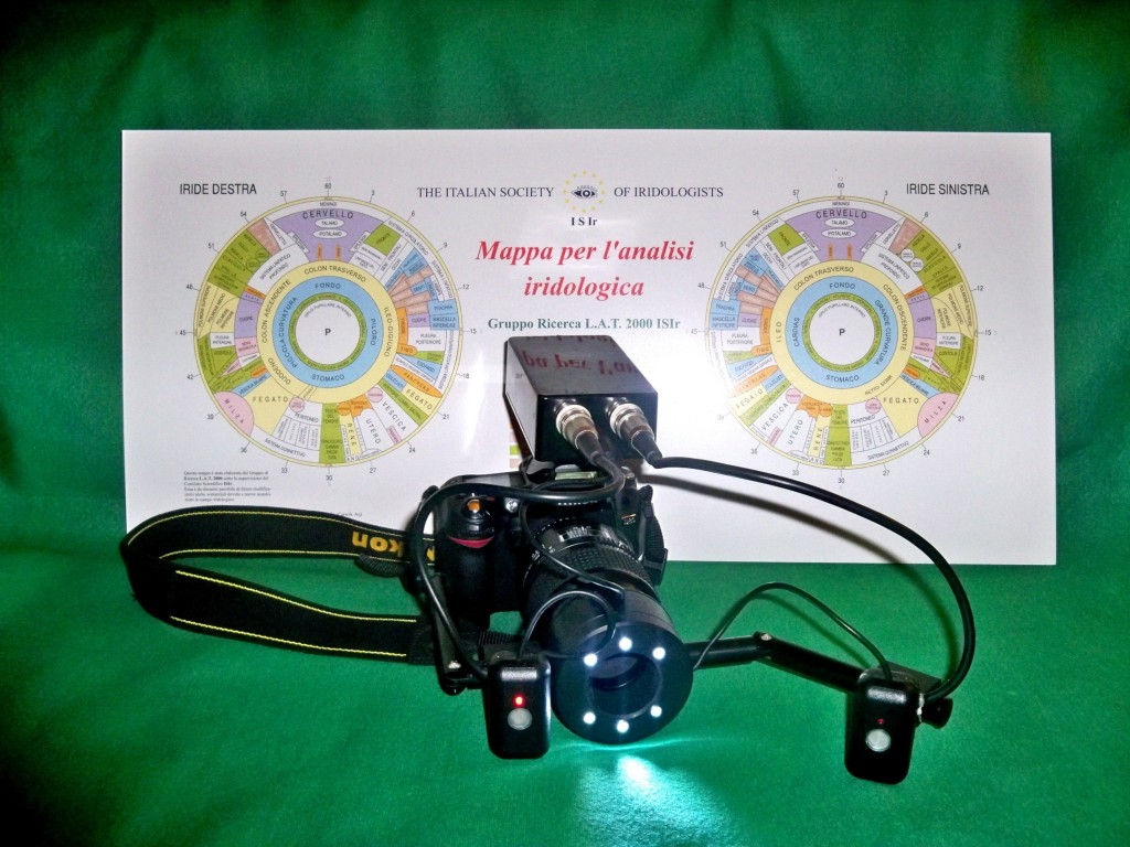 strumenti per iridologia