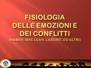 MASTER 2015 FISIOLOGIA DEI CONFLITTI