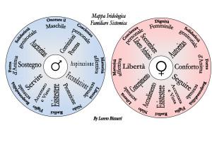 Iridologia mappa