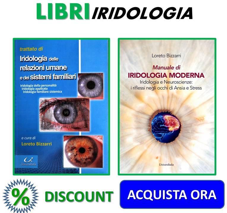 Libro di Iridologia